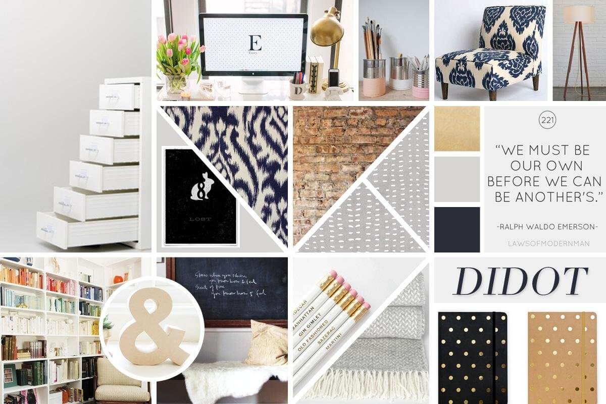 Designer E Clienti Mood Board Style Tile E Style Guides