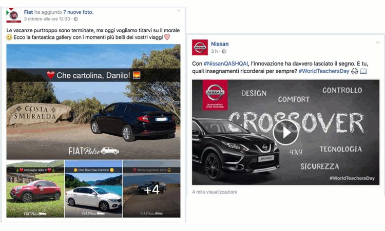 Fiat Nissan Ironia Friendly Social Network Automotive